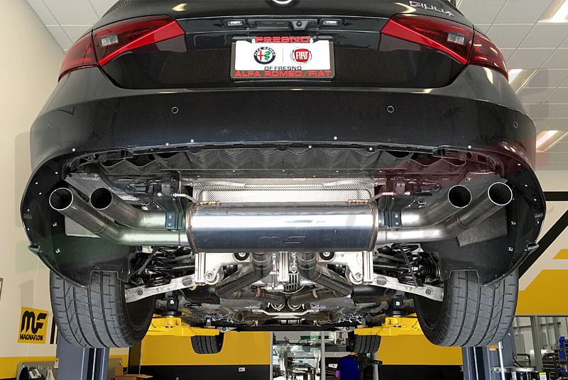 2017 Alfa Romeo Giulia Configurations >> Centerline Stradale Exhaust for Giulia Quadrifoglio by Magnaflow - Alfa Romeo Bulletin Board ...