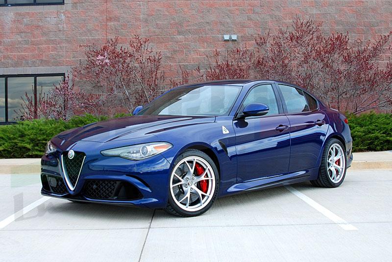 Wheel Upgrade With Wider Tires For Giulia Qv Alfa Romeo